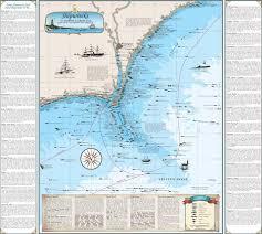 florida shipwrecks map shipwreck charts florida shipwrecks sealake products llc