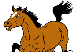 Coloriage cheval à imprimer sur Hugolescargotcom