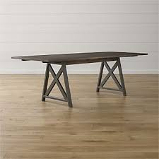 Dining Table With Extension Extension Dining Table Crate And Barrel