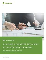 building a disaster recovery plan for the cloud era