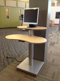 Computer Station Desk by Bci Bci Modern Library Furniture Selected For Rapid City Public
