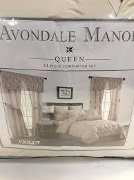 24 Piece Comforter Set Queen Avondale Manor 7 24 Pc Room In A Bag Comforter Sets Queen King