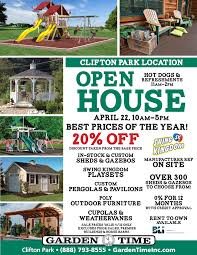 Discount Gazebos by This Weekend Clifton Park Open House Garden Time