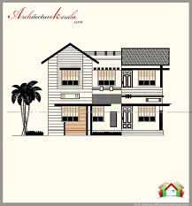 1700 Square Foot House Plans by 1700 Square Feet House Plan In Contemporary Model Elevation