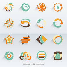 modelos de logotipo do vetor abstrato modelos de logotipo