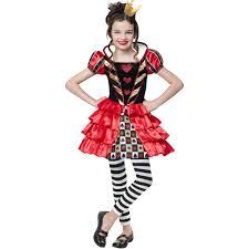 halloween costumes walmart queen of hearts cutie child halloween costume walmart com
