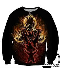 3d sweater z sweaters kid gokus evolution sweatshirt 360 3d