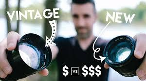 vintage 100 lens vs new 1000 lens using cheaper film lenses