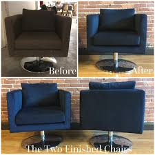Reupholster Leather Chair Custom Swivel Chairs And Sectional Couch Repholstery Springfield Mo