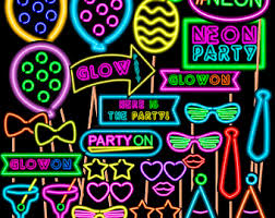 neon party neon party etsy
