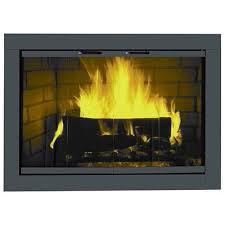fireplace doors black gen4congress for fireplace door 31253