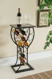 metal wine rack table black marble metal wine rack bottle organizer display stand