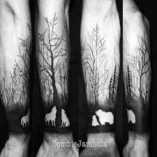 animalistic forest half sleeve best ideas gallery