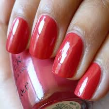 keerthamina pretty ballerina swatch opi paint my moji toes red
