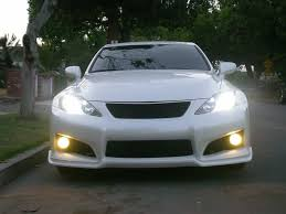 lexus isf modifications new body mods autocouture lip and front grill lexus isf is f
