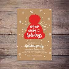 printable holiday party invitation christmas party invite