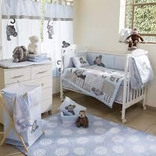 Neutral Nursery Bedding Sets Decoration Gender Neutral Crib Bedding Baby Boy Cot Bumper Set