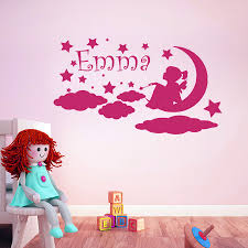 Custom Wall Decals For Nursery by Aliexpress Com Buy Personalized Wall Decals Girls Name Decal