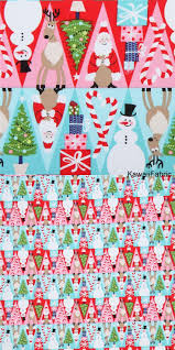 552 best christmas fabric images on pinterest