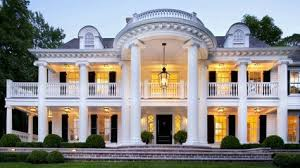 neoclassical house plan with 9360 square feet and 6 bedrooms from