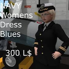 second life marketplace navy womens dress blues uniform 1 0