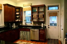 kitchen kitchen color ideas with cherry cabinets flatware