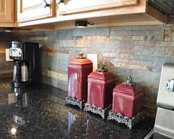 Nice Slate Kitchen Backsplash On by Slate Backsplash Tile Houzz
