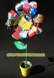 soda can pop can flower brighten up your by craftymountainmama