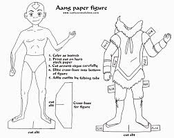 avatar last airbender coloring pages eson me