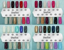 cnd shellac nail polish color chart shellac nail polish color