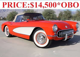 56 corvette for sale 1956 chevrolet corvette p 51a for sale mcg marketplace