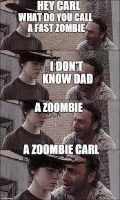Carl Walking Dead Meme - the walking dead coral imgflip