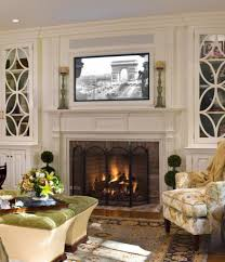 red brick wall for living room fireplace black painted wood coffee