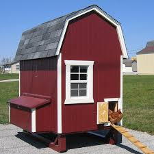 little cottage company gambrel barn chicken house with nesting box