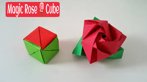 How To Build A Toy Chest Free by Magic Rose Cube Diy Modular Origami Tutorial By Paper Folds