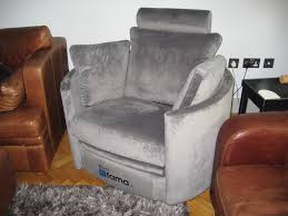 Electric Recliner Armchair A Lovely Soft Grey Fabric Linwood Omega Velvet Moonbeam Was
