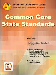 california state standards home