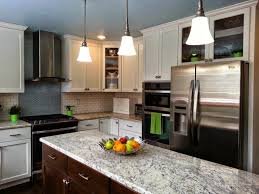 kitchen cozy super white granite countertop and two tone kitchen