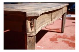 How To Refinish Desk Refinishing A Coffee Table Two Tone Coffee Table For Captivating