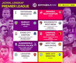Jadwal Liga Inggris Jadwal Liga Inggris 17 18 Maret 2018 Enam Laga Pekan Ke 31