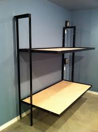 Loft Bed Without Desk Folding Bunk Beds Without Mattress Small Rooms Pinterest