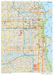City Of Chicago Map by Chicago City Map
