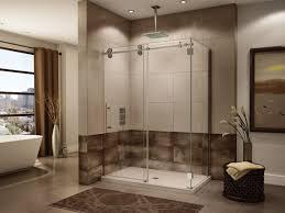 shower glass tub shower doors modern glass and shower doors