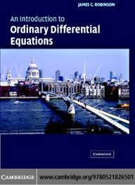 an introduction to ordinary differential equations james robinson