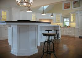 round island kitchen kitchen islands best curved kitchen island ideas on floor