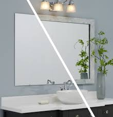 Framed Bathroom Mirrors Framed Bathroom Mirrors Bathroom Contemporary With Custom Mirror