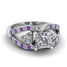 butterfly rings diamond images Trillion butterfly princess cut diamond engagement ring with jpg