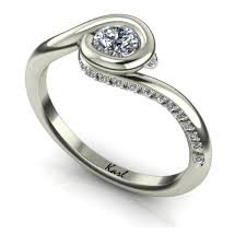 eljegyzesi gyuru különleges fehér arany eljegyzési gyűrű eljegyzési gyűrű