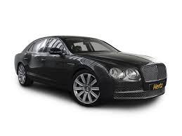 bentley flying spur white bentley car rentals hertz dream collection