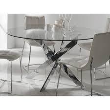 Table De Cuisine En Verre Avec Rallonge by Table De Cuisine Ronde Comment La Choisir